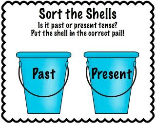 There Was An Old Lady Who Swallowed A Shell! PAST PRESENT