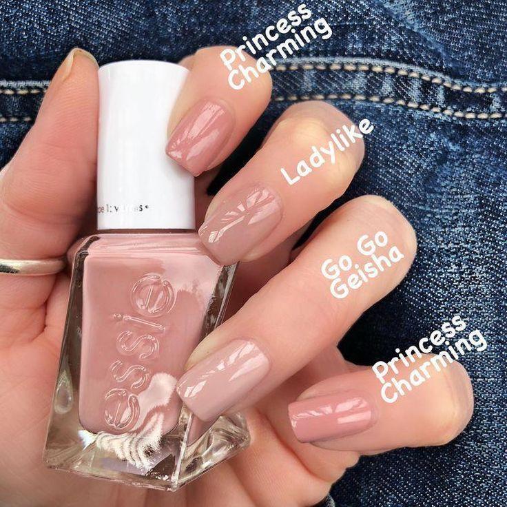 Diese nackten Nagelfarben sind einfach wunderschöne #disneynails – N a i l s