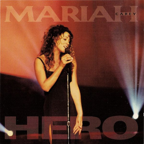 Mariah Carey - Hero (CD) at Discogs | My Music Collection in 2019