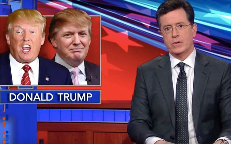 Stephen Colbert Makes Donald Trump Debate Himself  - The Daily Beast