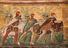 See the Basilica of Sant'Apollinare Nuovo in Ravenna