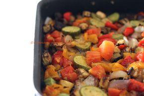 Arabafelice in cucina!: Teglia di verdure al forno (con ingrediente segreto ;)