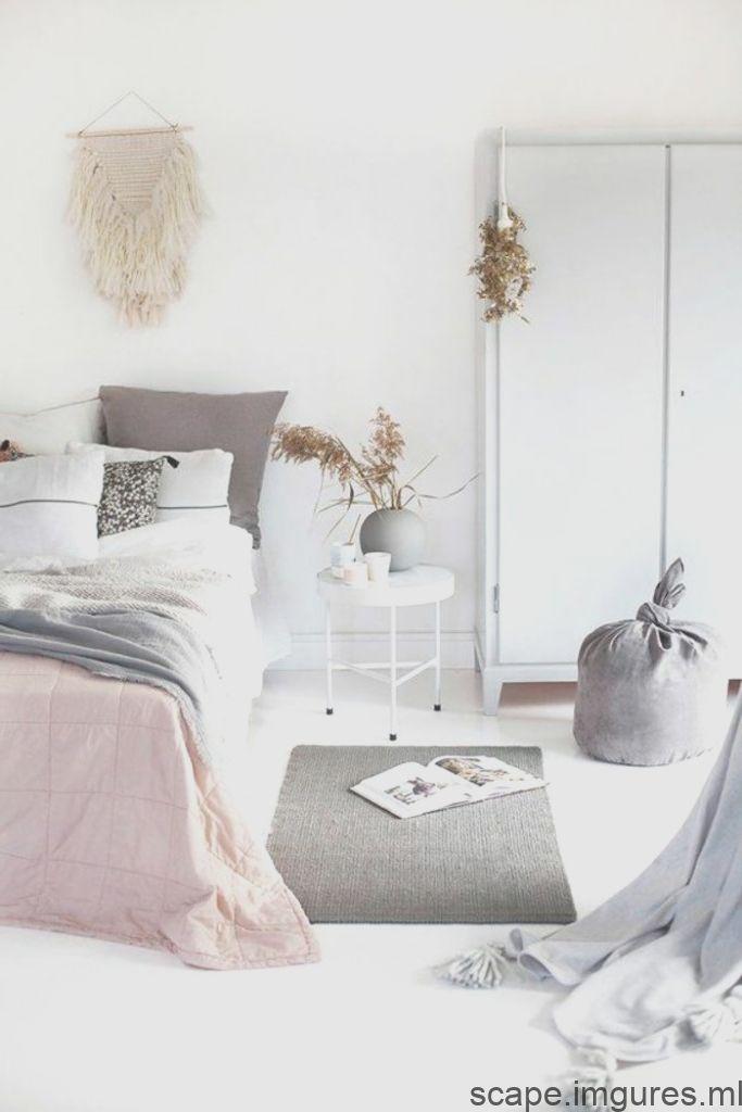Idees De Vie Chambre A Coucher Tons Pastel Accents Sol Blanc Murs