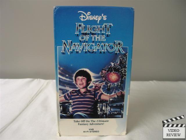 Flight of the Navigator VHS Joey Cramer; Randal Kleiser; Walt Disney Home Video