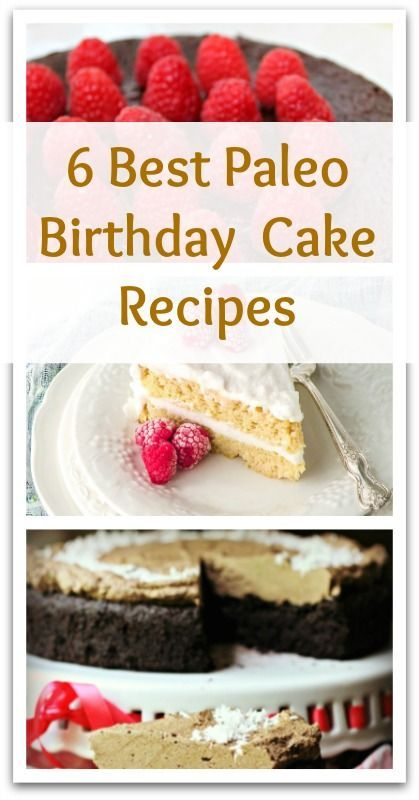 6 Best Paleo Birthday Cake Recipes - Natural Holistic Life #paleo #cake #birthday