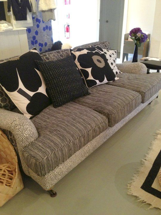 High & Low: Reupholster for an Amazing Modern Roll Arm Sofa