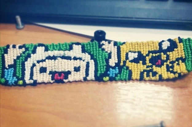 12 of the geekiest DIY friendship bracelets complete with patterns!