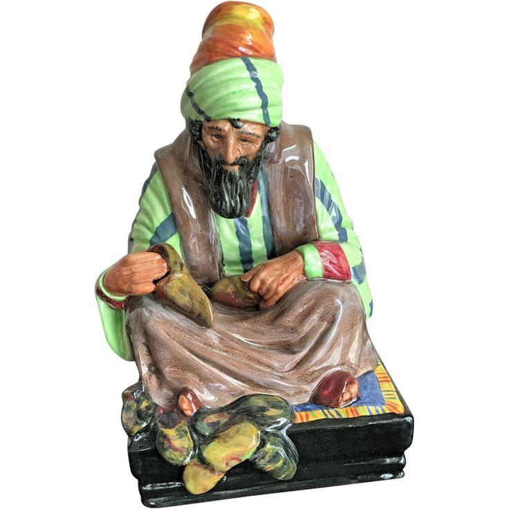 """Royal Doulton Figurine """"The Cobbler"""" HN 1706 Retired"""