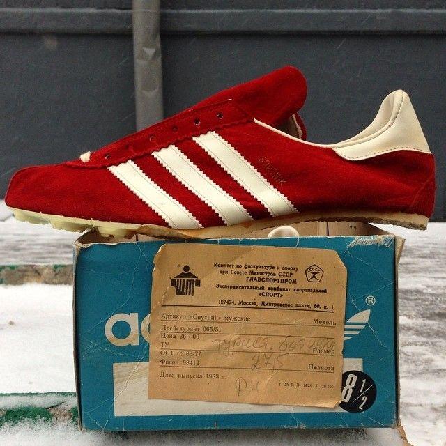 Adidas Sputnik. Release  1983. Made in USSR.  5c5e9c46e