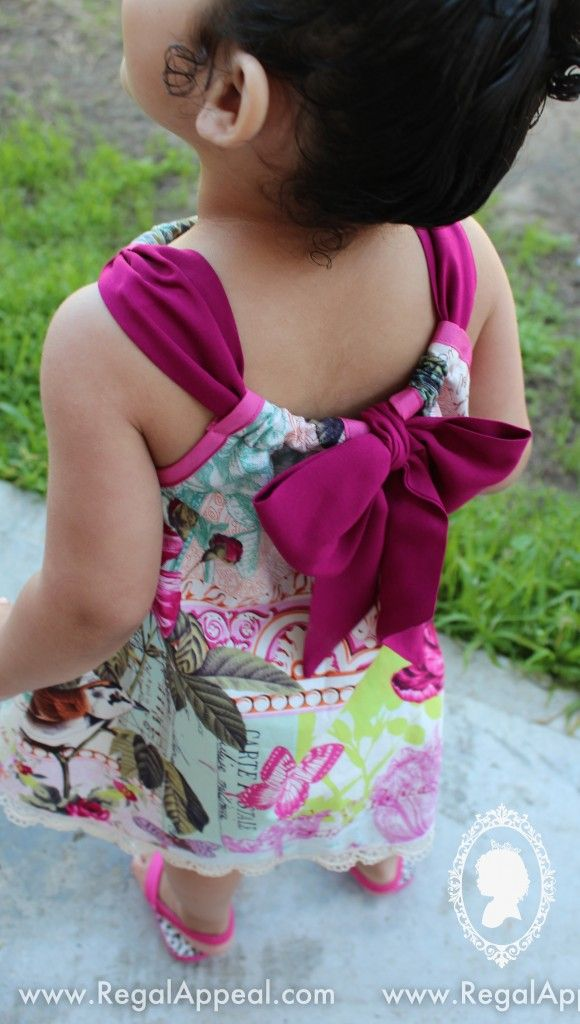 how to make a pillowcase dress from fabric