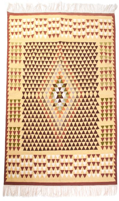 "Kilim V ""Bakamski"" - excellent bulgarian kilim with pattern typical for Bulgaria"