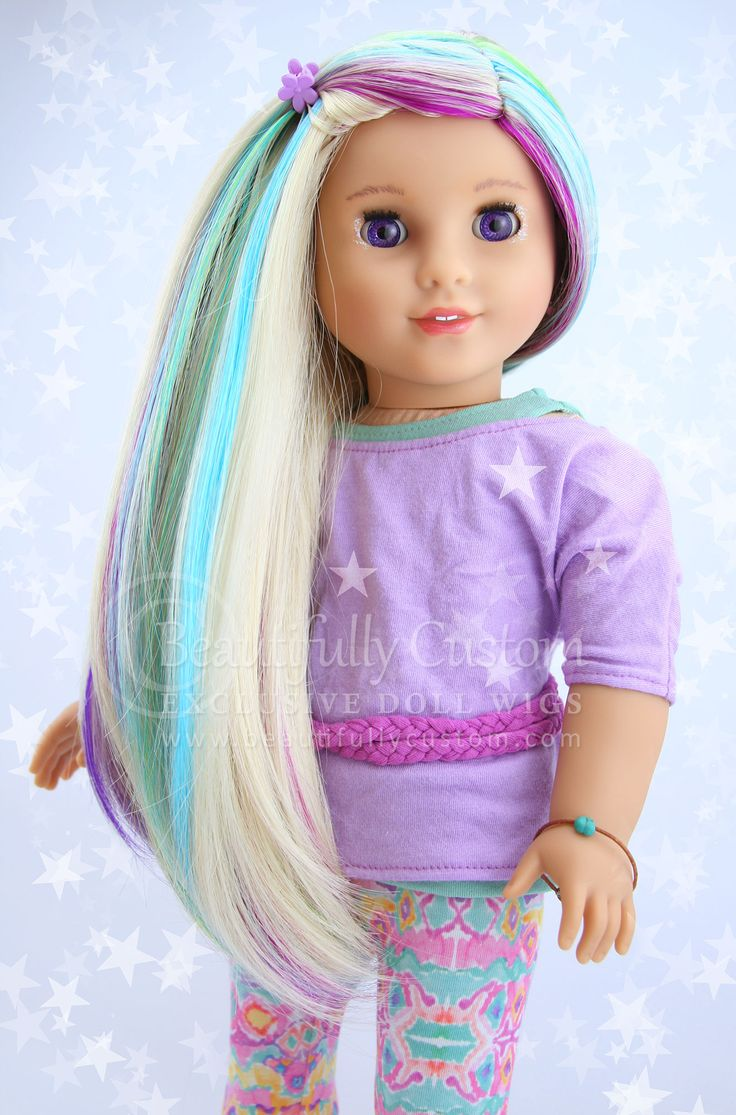 American Girl Doll Wig 6