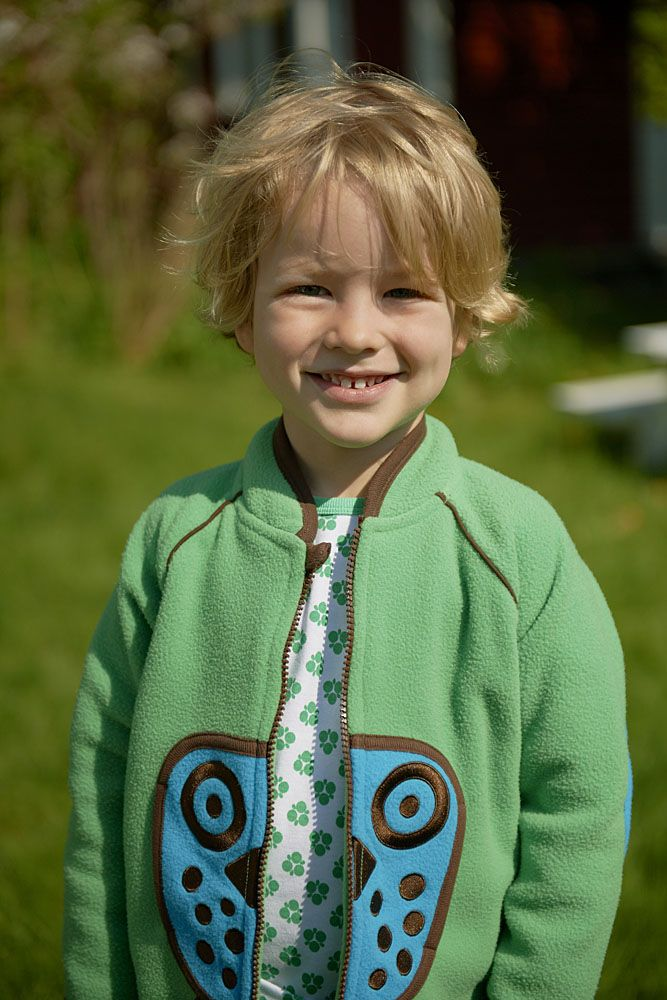S/S 2014 ej sikke lej fleece, Kids wear