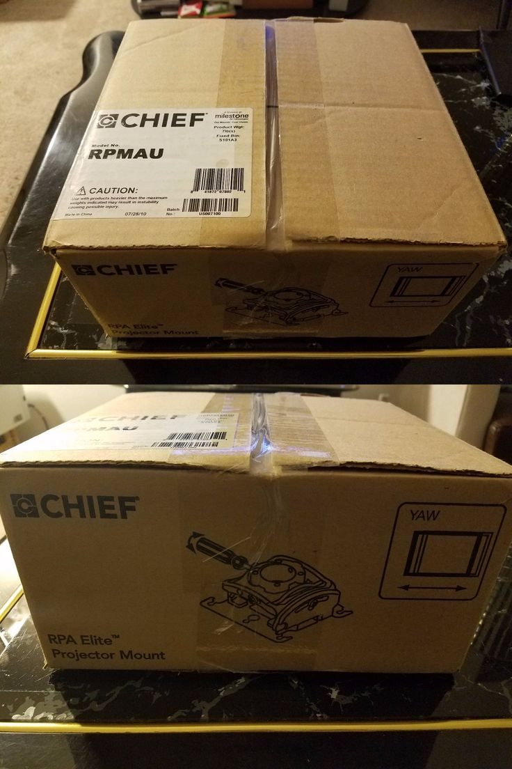 Projector Mounts and Stands: Chief Rpmau Rpa Elite Universal Projector Mount W Keyed Locking Black -> BUY IT NOW ONLY: $100 on eBay!