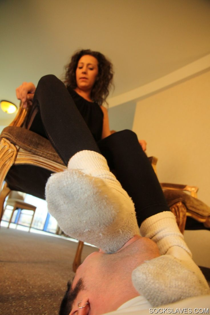 Her foot slave