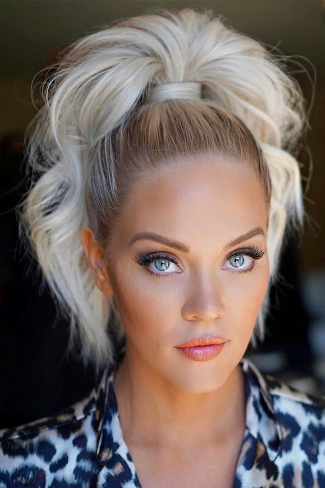 100 Different Ponytail Hairstyles To Fit All Moods And Occasions | Ponytail hairstyles, Choppy ...