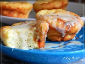Сырники-кексы в духовке