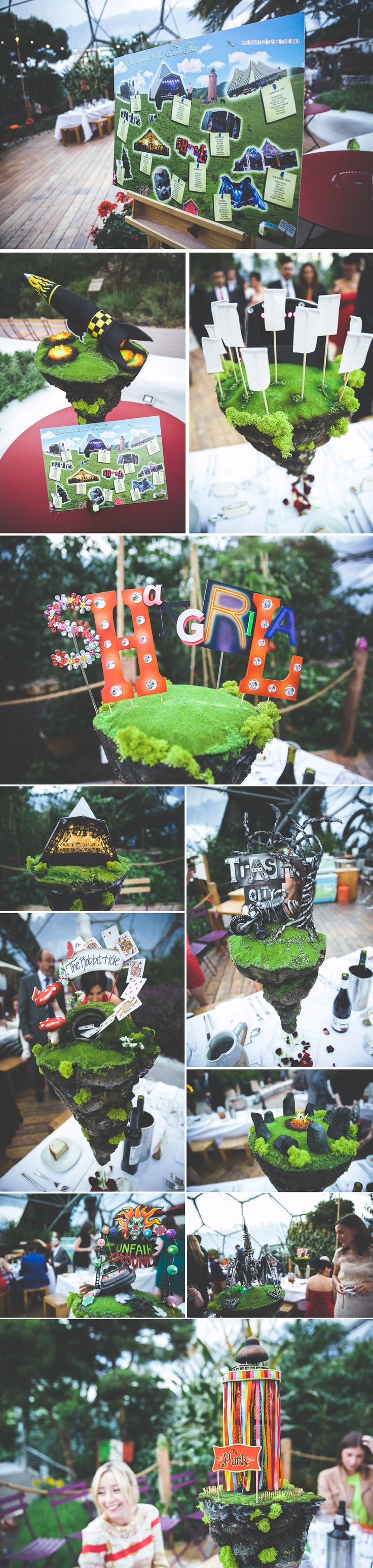 A Glastonbury Festival Themed Wedding At The Eden Project – Charli