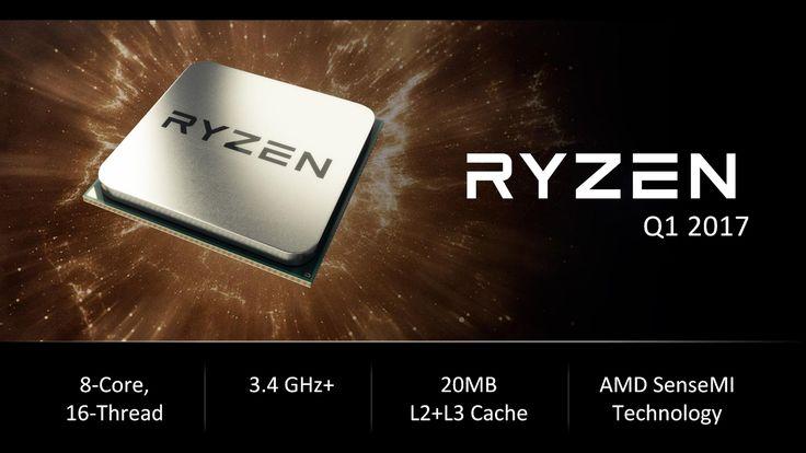 AMD Ryzen Lineup Leaks Out   AMD Ryzen CPU Release Date Rumored