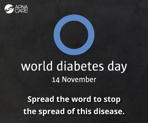 #WorldDiabetesDay is the perfect time to talk about this silent killer.   Find out how to recognize the symptoms and what steps you can take to manage this incurable disease.  Read our blog to know more http://apnacare.in/world-diabetes-day-2016 If you need help finding trained professionals to care for your loved ones, call us at +91 (080) 30752584 now. #WDD #eldercare #WorldDiabetesDay #elderlycare
