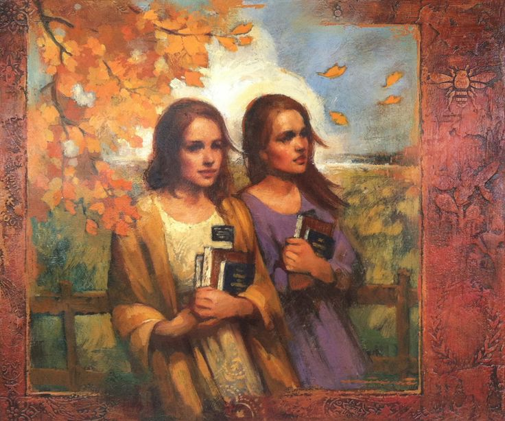 Annie Henrie Authentique Gallery Art Work Lds Art
