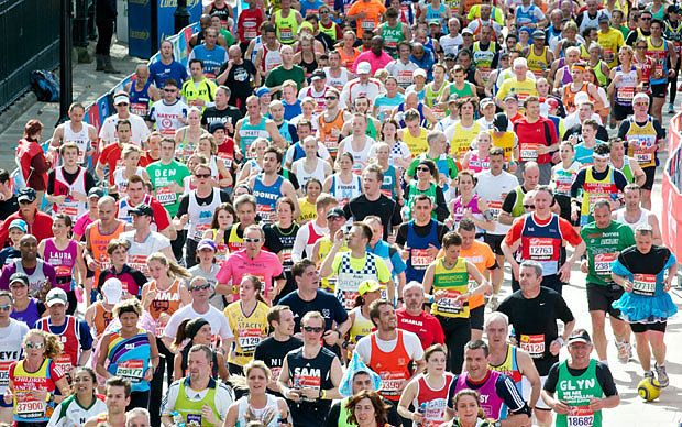 London Marathon 2015: live
