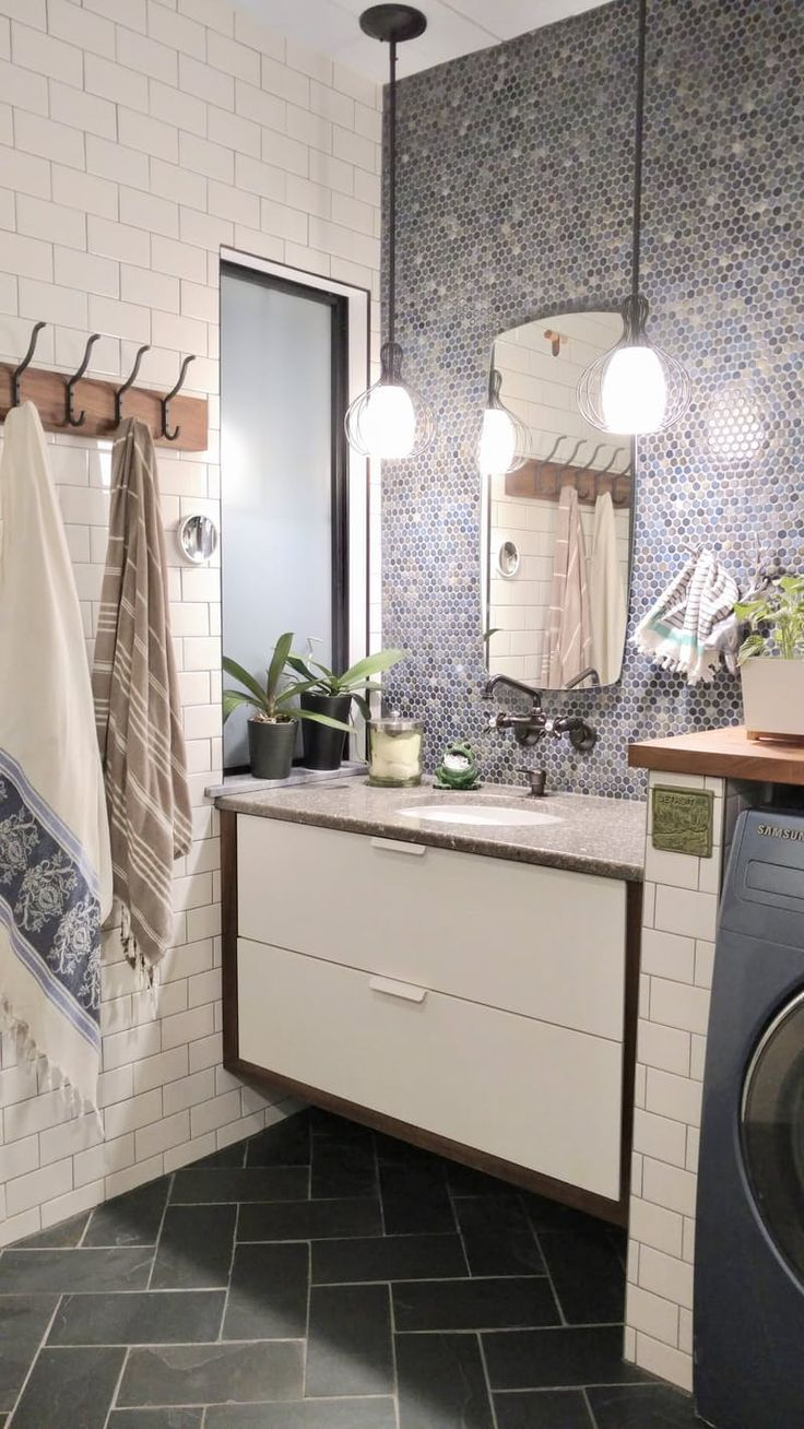A Gorgeous Bathroom Remodel After 30 Years of Neglect | Apartment Therapy