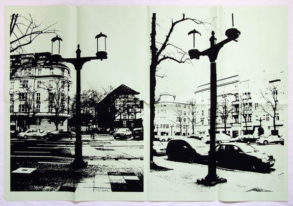 Erik van der Weijde-- lamp posts designed by Albert Speer.