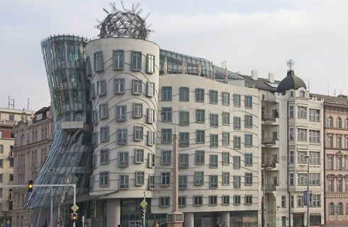 Dancing Building, Cehia.