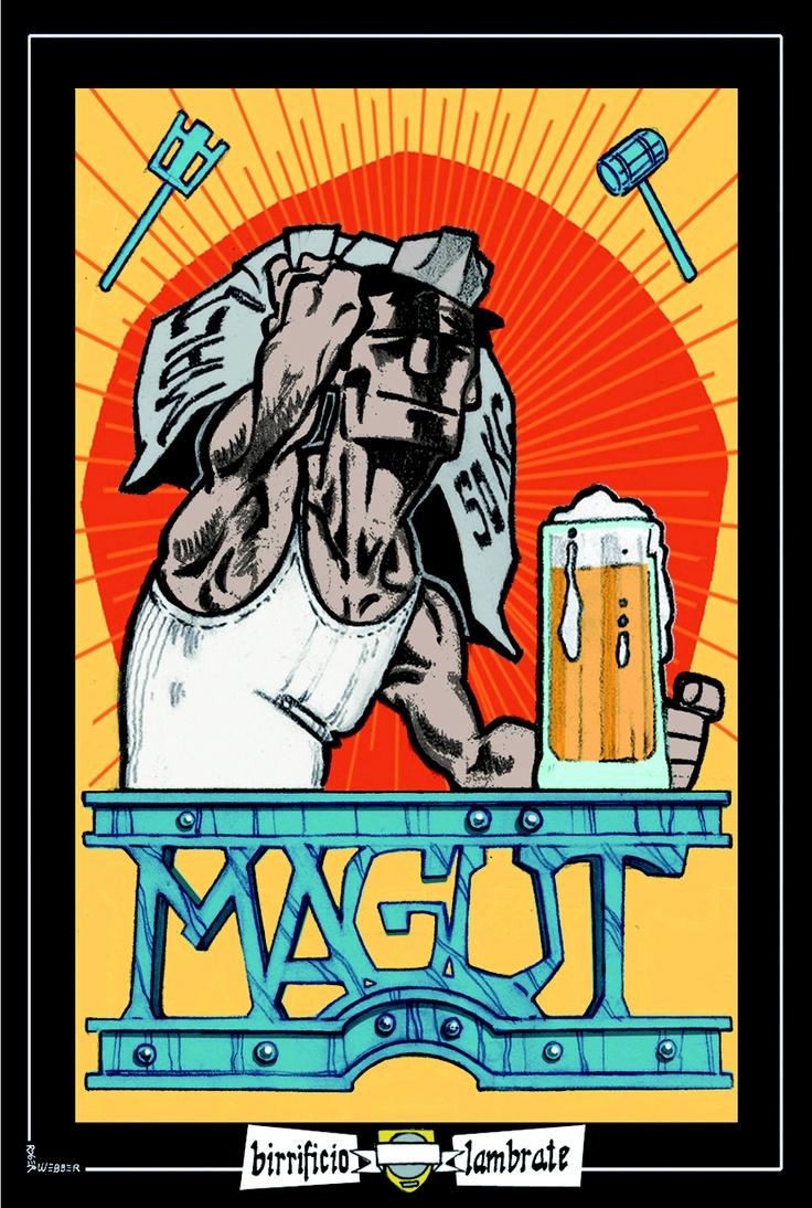 Birra MAGUT stile German Pilsner 5%vol.