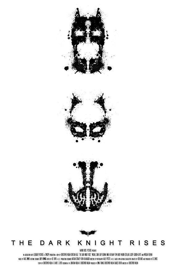 The Dark Knight Rises Film Poster v3
