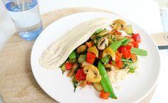 Recept Witvis met Rijst en Groenten - Optima Vita
