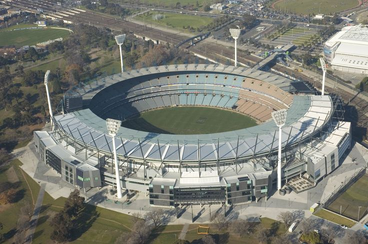 "Melbourne Cricket Ground - ""The MCG""; hallowed ground for Footy fans and home to the AFL Grand Final Match, the ""Super Bowl"" for Aussie rules football..."