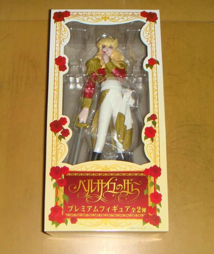 A Sega The Rose of Versailles Lady Oscar Figure Type A Red JP | eBay