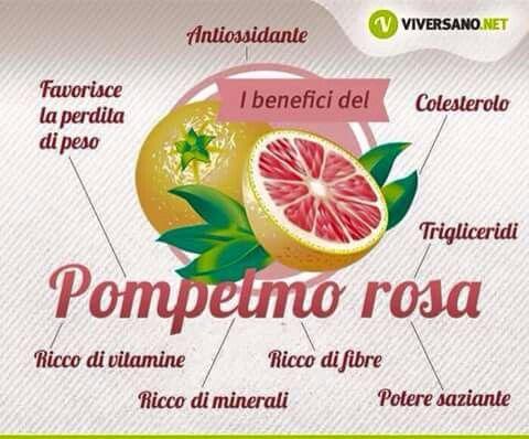 ✔ Benefici del pompelmo rosa