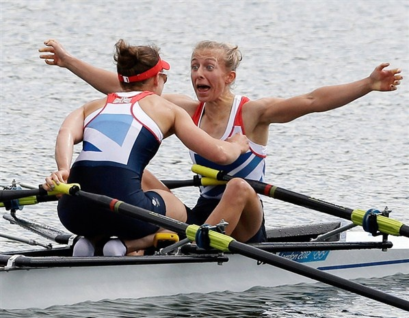 Sophie Hosking and Katherine Copeland- Shock and delight!