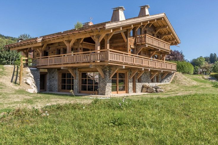 FRANCE Location: Megève, French AlpsGuide price: £5.93mAgent: Knight Frank (020 7629 8171) ?An alpine chalet is the quintessential wooden holiday home. You might associate the Alps with skiing, but it is just as agreeable during the summer. Many ski-lifts are still operational, allowing for great walks or access to mountaintop restaurants. This stunning new five-bedroom home comes with plenty of distractions, including a cinema, swimming pool and sauna.