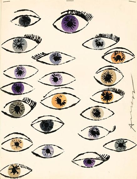 Andy Warhol | Untitled (Eyes)