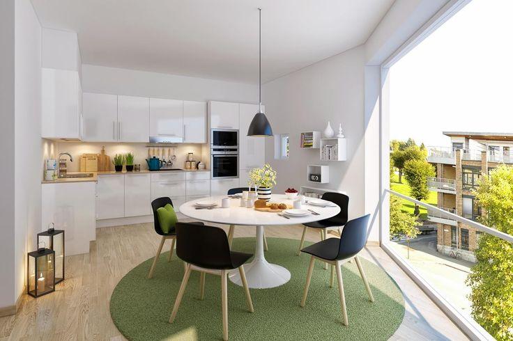 FINN – Losjeplassen Vest - Nye leiligheter midt i Drammen sentrum. 91 solgte.