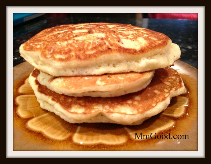 light and fluffy pancakes with a secret ingredient to make them super ...