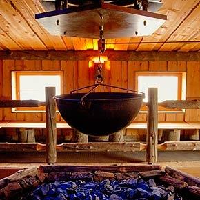 Sauna en Löyly (Finse opgieting)