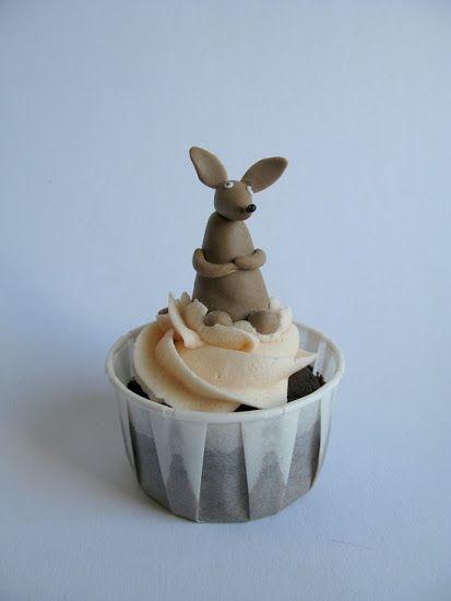 A Baked Creation: Moomin Cupcakes