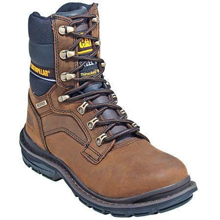 b58dcb8cc5a CAT Men's Steel Toe 89988 Waterproof EH Work Boots | Outdoor living ...
