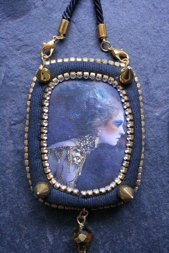 Vanity Fair - Bohemian Necklace - Pendant Necklace - Cord Necklace - Statement Necklace - Tassel Necklace
