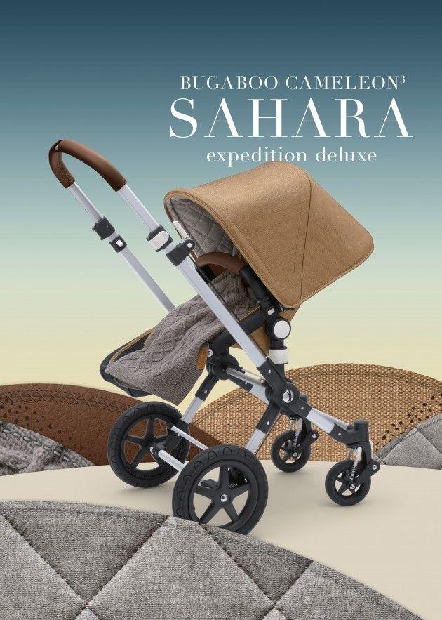 The ultimate: bugaboo Cameleon3 Sahara stroller