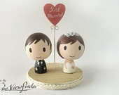 25 inches Customise Wedding Cake Topper with by Oneviewfinder