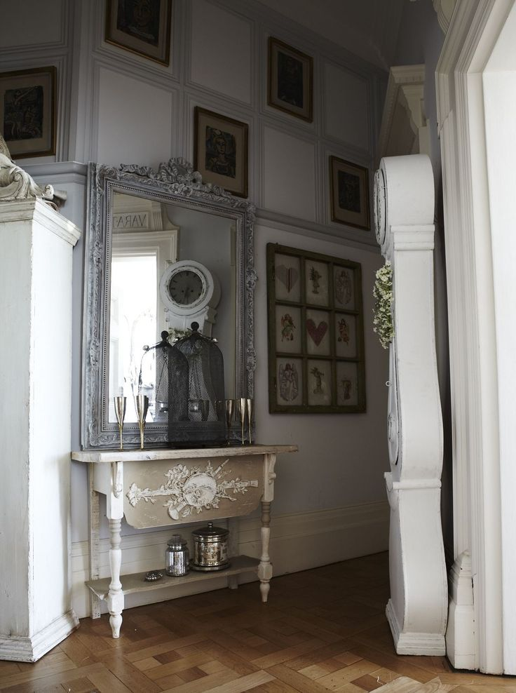 Shabby & Charme: Una bella casa gustaviana nel sud dell'Inghilterra - a beautiful house in gustavian style in South of England