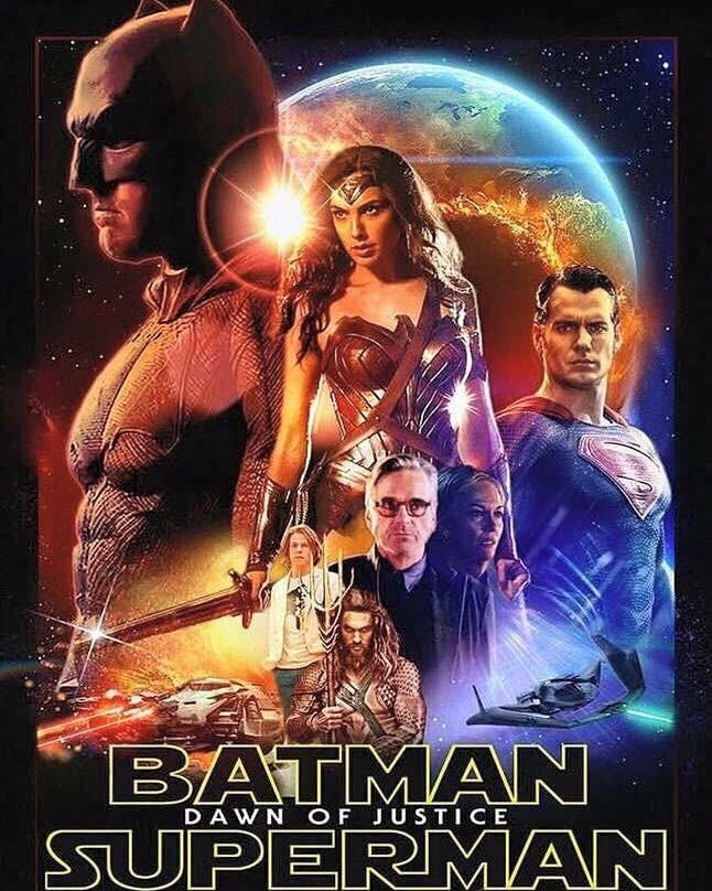 Batman v Superman s'affiche façon Star Wars | COMICSBLOG.fr