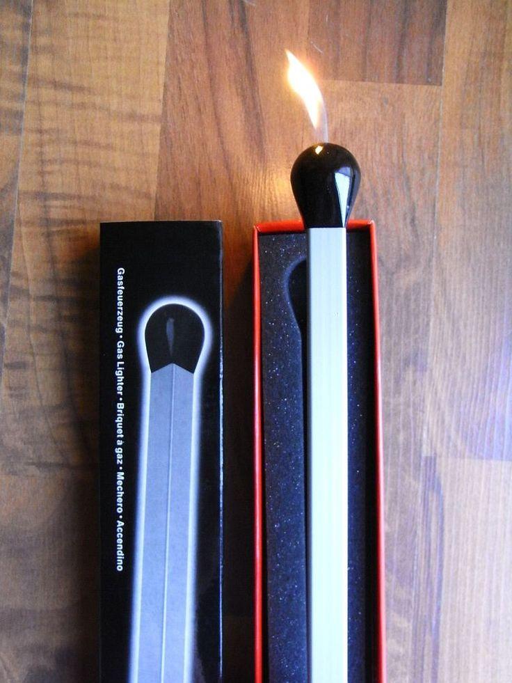 Stabfeuerzeug XXL 365 mm lang !!! / Kamin Feuerzeug Kerzen Geschenk Alu Anzünder