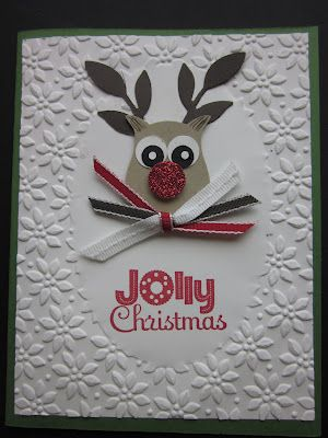TX Stampin' Sharon posted a quick Christmas cutie on her blog.